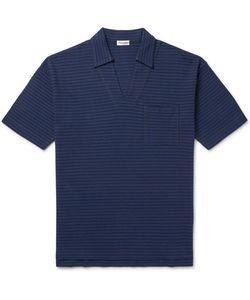 Camoshita | Skipper Slim-Fit Striped Cotton-Piqué Polo Shirt