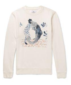 Folk | Goss Brothers Alligator Printed Loopback Cotton-Jersey Sweatshirt