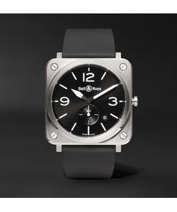 Bell & Ross | Br S 39mm Steel And Rubber Watch