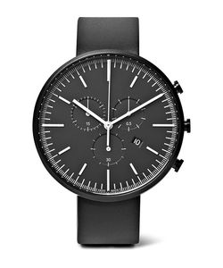 Uniform Wares | M42 Chronograph Pvd-Coated Stainless Steel And Rubber Watch