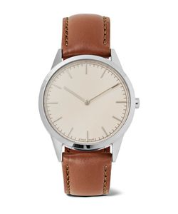 Uniform Wares | C35 Stainless Steel And Leather Watch