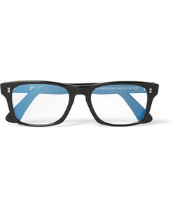 CUTLER & GROSS | Cutler And Gross Square-Frame Acetate Optical Glasses