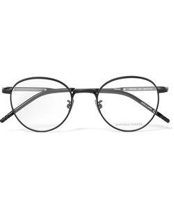 Bottega Veneta | Round-Frame Titanium And Acetate Optical Glasses