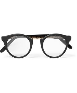 CUTLER & GROSS | Round-Frame Acetate And Tone Optical Glasses