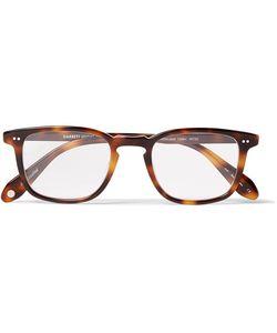 Garrett Leight California Optical   Howland D-Frame Tortoiseshell Acetate Optical Glasses