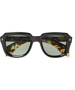 Hopper | Jacques Marie Mage Taos Square-Frame Acetate Sunglasses