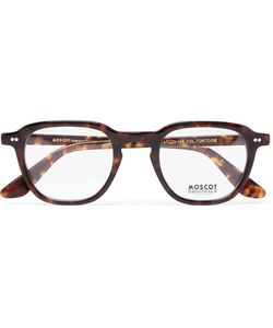 MOSCOT   Billik Round-Frame Tortoiseshell Acetate Optical Glasses