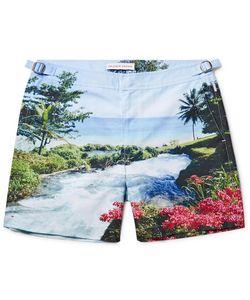 Orlebar Brown | Bulldog Mid-Length Printed Swim Shorts