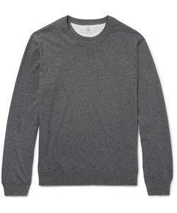 Brunello Cucinelli | Fleece-Back Cotton-Jersey Sweatshirt