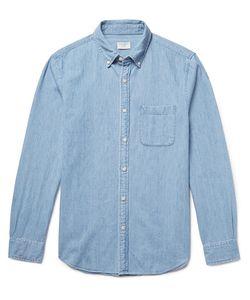 Club Monaco | Button-Down Collar Cotton-Chambray Shirt