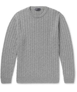 Thom Sweeney | Slim-Fit Cable-Knit Cashmere Sweater