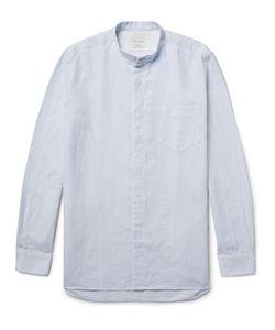 Paul Smith | Slim-Fit Grandad-Collar Slub Cotton Shirt