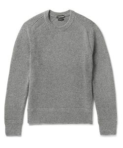 Tom Ford | Slim-Fit Ribbed Wool And Silk-Blend Sweater