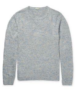 Massimo Alba | J. Pierre Mélange Linen And Silk-Blend Sweater