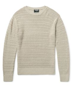 TODD SNYDER | Drop-Stitched Linen Sweater