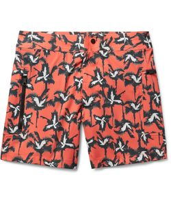 Everest Isles | Draupner Mid-Length Printed Swim Shorts