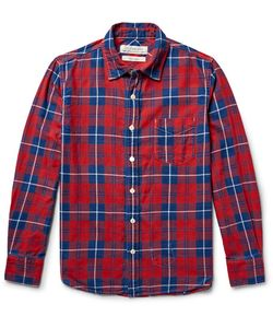 Remi Relief | Checked Cotton-Flannel Shirt