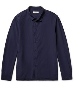 NONNATIVE   Clerk Slim-Fit Overdyed Cotton-Ripstop Shirt