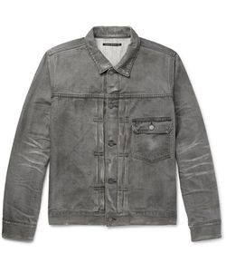 Fabric-Brand & Co | Distressed Selvedge Denim Jacket