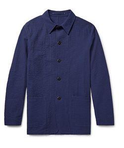 Private White V.C. | Cotton-Seersucker Shirt Jacket