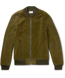 SIMON MILLER | Suede Bomber Jacket