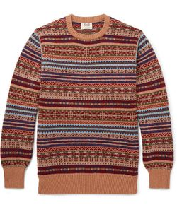 William Lockie | Fair Isle Cashmere Sweater