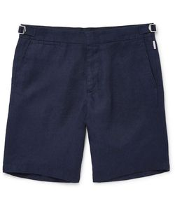 Orlebar Brown | Norwich Slim-Fit Linen Shorts
