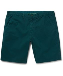 PS PAUL SMITH | Slim-Fit Stretch-Cotton Twill Shorts