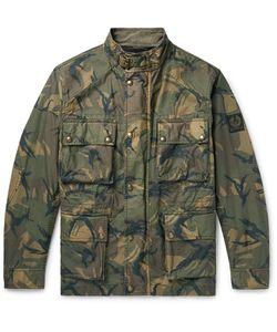 Belstaff | Tyefield Camouflage-Print Waxed-Cotton Field Jacket
