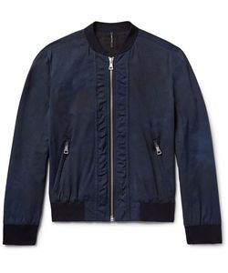 HELBERS | Tie-Dyed Cotton-Blend Bomber Jacket