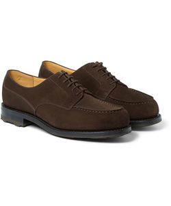 J.M. Weston | Goodyearreg-Welted Suede Derby Shoes