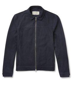 Oliver Spencer | Suede Blouson Jacket