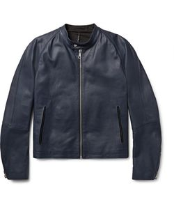 HELBERS | Leather Café Racer Jacket