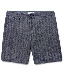 Club Monaco | Baxter Herringbone Linen Shorts