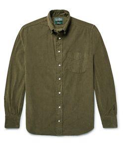 Gitman Vintage | Button-Down Collar Cotton-Corduroy Shirt