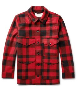 Filson | Mackinaw Crusier Checked Virgin Wool Shirt Jacket