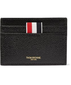 Thom Browne | Pebble-Grain Leather Cardholder