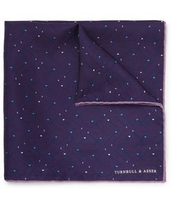Turnbull & Asser | Printed Silk Pocket Square