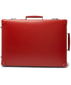 Globe-Trotter   20 Leather-Trimmed Suitcase