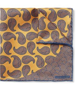 Turnbull & Asser | Printed Silk-Twill Pocket Square
