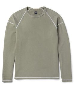 Albam | Loopback Cotton-Jersey Sweatshirt