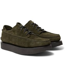 Yuketen   Maine Guide Ox Rocker Rough-Out Leather Shoes