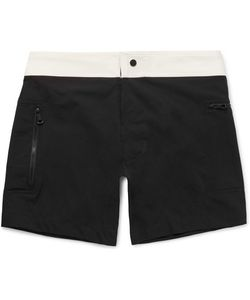 Everest Isles | Draupner Slim-Fit Two-Tone Mid-Length Swim Shorts