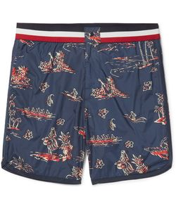 Moncler | Mid-Length Printed Swim Shorts