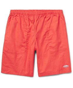 Battenwear | Active Lazy Linen And Cotton-Blend Shorts