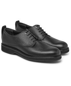 Want Les Essentiels | Montoro Pebble-Grain Leather Derby Shoes