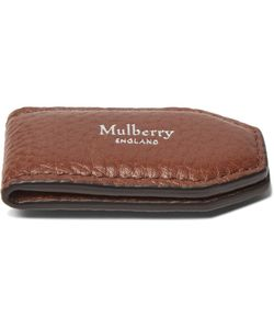 Mulberry | Full-Grain Leather Money Clip