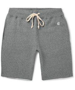 Todd Snyder + Champion | Todd Snyder Champion Cut-Off Fleece-Back Cotton-Blend Jersey Shorts