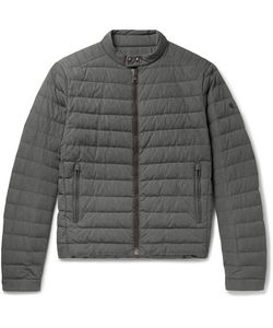 Ralph Lauren Purple | Label Lawton Quilted Shell Down Jacket