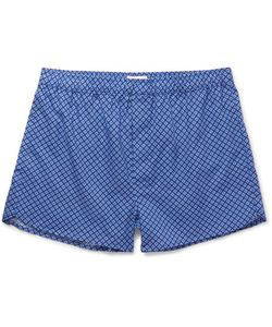Derek Rose | Ledbury Printed Cotton Boxer Shorts